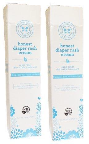Cream Company érythème fessier honnête, 2,5 oz - 2 PACK