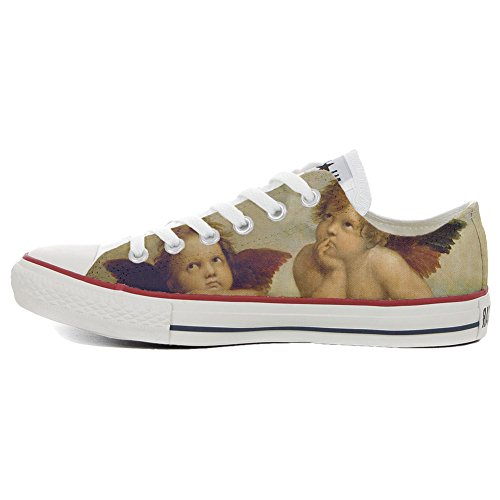 Schuhe personalisierte Customized Star Schuhe Style Low Artistic Slim All Converse Handwerk wCqX66