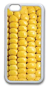 Corn on the Cob TPU Case Cover for iphone 6 plus 5.5 inch White
