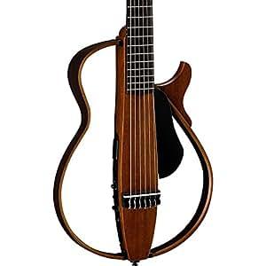 Amazon.com: Yamaha Nylon String Silent Guitar Natural ...