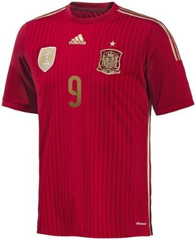 adidas Torres #9 España Camiseta 1ra Copa Mundial (2XL): Amazon.es ...