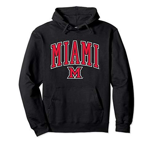Miami University MU RedHawks NCAA Hoodie 19MU-1 ()