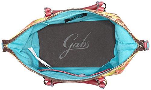 GABS G3, Borsa a mano Donna Multicolore (Foglie)