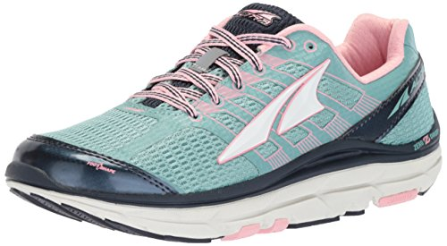 Altra Women's Provision 3.0 Trail Runner, Blue/Pink, 10.5 US