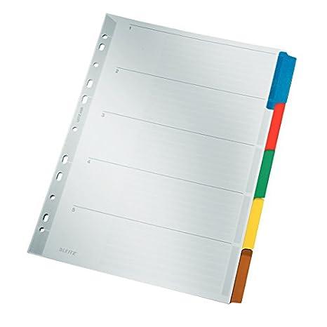 Leitz 43200000 - Recambio de agenda en carton, A4, plateado ...