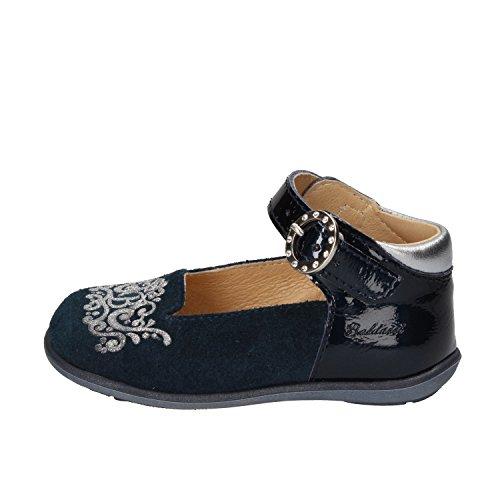 Balducci Mädchen Schuhe mit Riemchen Blau