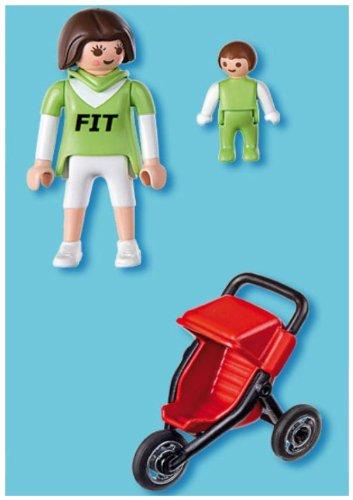 Amazon.es: Playmobil 626043 - Familia Mamá Con Cochecito: Juguetes y juegos