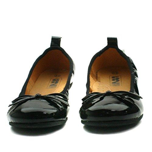 LORENA Step2wo School Shoe Ballet for Girls >                     > Schulschuh für Mädchen Schwarz
