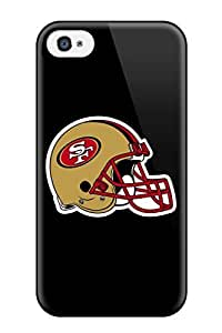DanRobertse Case Cover For Iphone 4/4s - Retailer Packaging San Francisco 49ers Helmet Protective Case