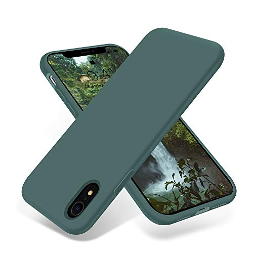 OTOFLY Compatible with iPhone XR Case 6.1 inch,[Silky and Soft Touch Series] Premium Soft Liquid Silicone Rubber Full…