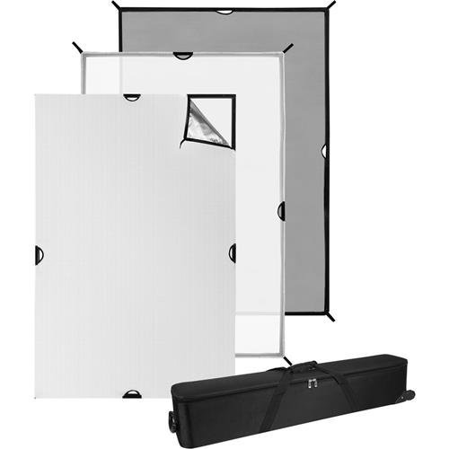 Westcott 4x6' Scrim Jim Cine Kit, Includes Six 46'' Frame Tube, Full-Stop Diffuser by Westcott