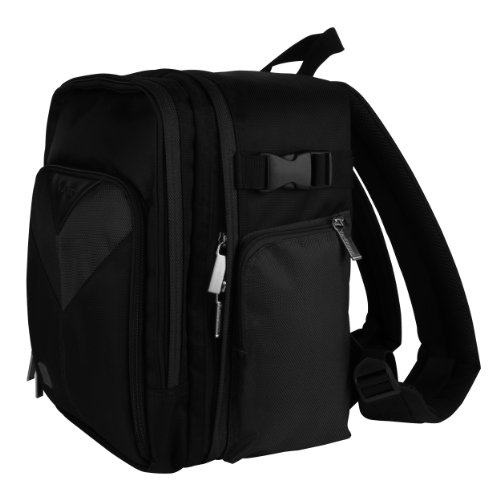 Black Sparta Travel Backpack Carrying Case
