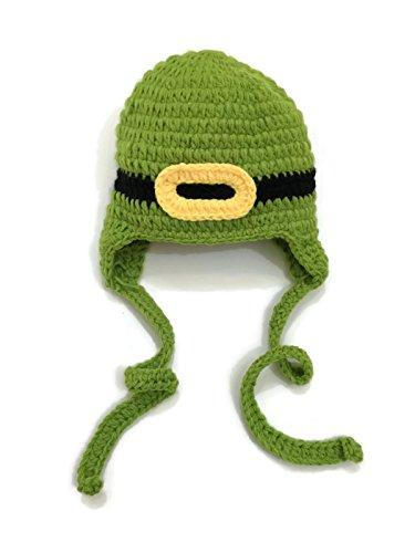 Sassy Leprechaun - Rush Dance St Patrick's Day Leprechaun Crochet Beanie Photo Prop Costume Hat