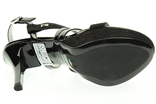 NEGRO JARDINES sandalias de tacón mujer P615780DE / 100 Nero
