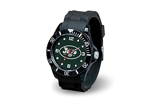 Rico Industries NFL New York Jets Spirit Watch (New York Jets Team Timer)