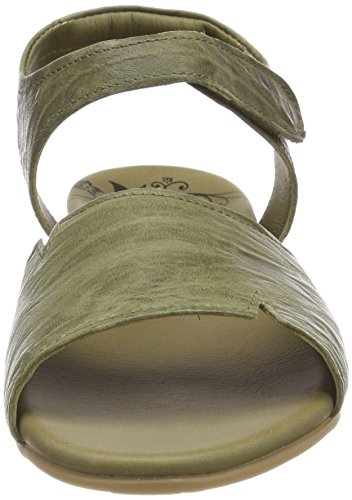oliv 282557 66 Oliv Back 66 Jaeh Green Women''s Sandals Sling Think qCwBEx0