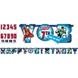Amazon Com Nhl Hockey Party Happy Birthday Jointed Letter Banner
