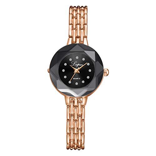 chenqiu Women's Luxury Simple Watch, Fashion Luminous Pointer Colorful dial Simulation Quartz Watch, Business Waterproof Watch