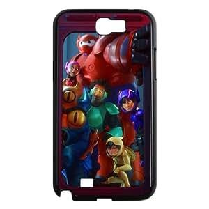 Samsung Galaxy N2 7100 Cell Phone Case Black Big Hero E8V7AJ