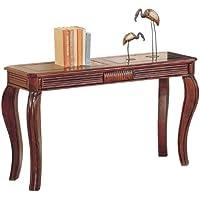 Acme 06153 Overture Sofa Table, Cherry Finish