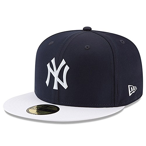 (New York Yankees New Era 2018 On-Field Prolight Batting Practice 59FIFTY Fitted Hat - Navy/White (7)