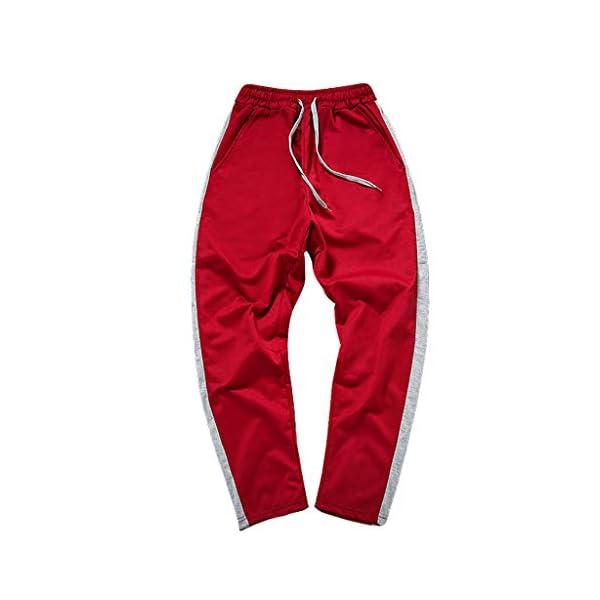 LILICAT Hommes Pantalon de Sport Jogging Jogger Fitness Homme Coton Slim Fit Respirant et Léger Printemps Été,Homme Pantalons Casual Slim Fit Pantalons de Sport Jogging Long Pants de Survêtement accessoires de fitness [tag]