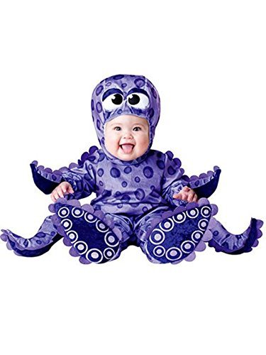 [gangnumsky-Kid's Cosplay Dress New Year Crismas Party School Octopus Cosplay Costume Baby Animal Cute Romper Photography] (Indiana Jones Halloween Costume Diy)