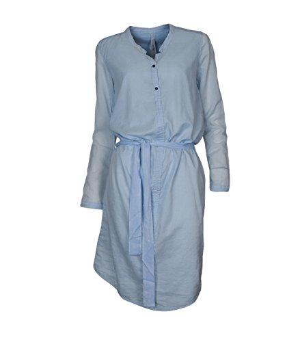 Damen Buzzer in Sky Kleid HUMANOID Hellblau PqdRP