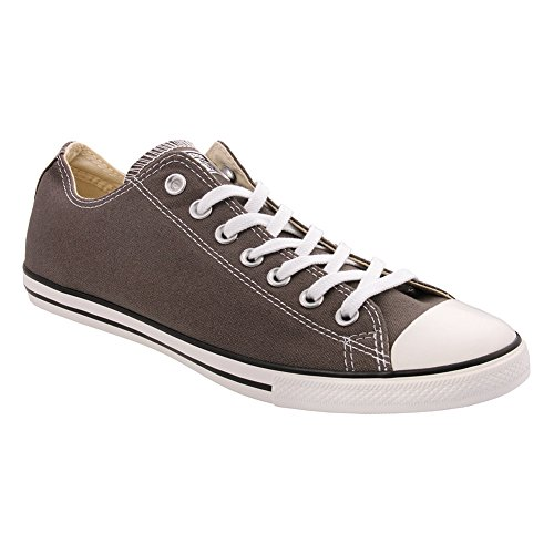Converse Men's All Star Chuck Taylor Lo Top Oxfords (9 D(M) US, Charcoal) (Converse All Star Oxford)