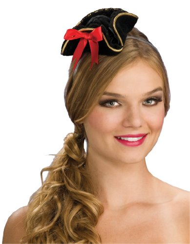 [Rubie's Costume Women's Mini Buccaneer Hat, Multi, One Size] (Halloween Pirate Woman Costumes)
