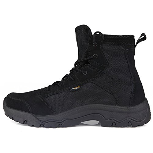 Free soldier Outdoor Tactical Boots Hiking Climbing Shoes for Men...