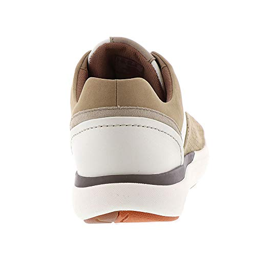 Combi Sneaker Womens Un CLARKS Sand Leather Lace Nubuck White Cruise zT1IRxn