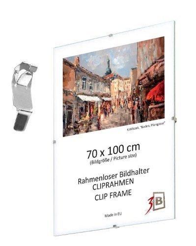 Amazon.com: Set of 3 pcs. CLIP FRAMES - 29,7x42 cm (A3) (ca. 12x17 ...