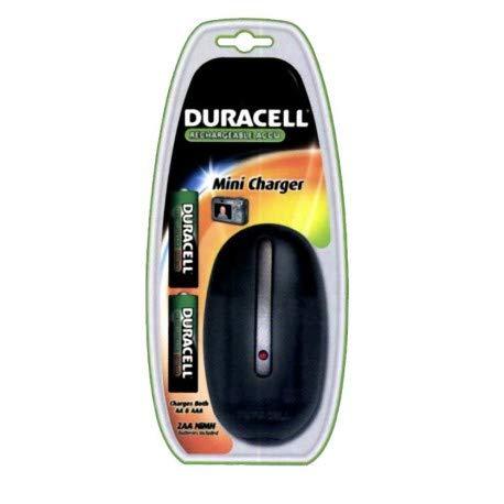Cargador Pilas Duracell CEF20 valido para AA y AAA Incluye 2 ...