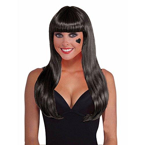 Shindigz Black Costume Wig -