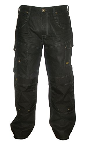 "Dewalt Pro Work Jean - Prenda, color (Denim/Black), talla 42/32 "" (Denim/Black)"