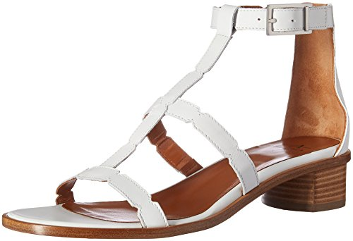 Aquatalia by Marvin K. Womens Risa Calf Sandal White