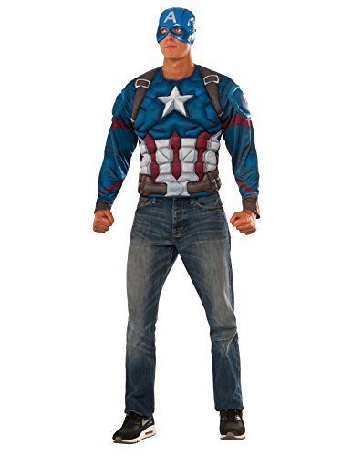 Rubies Costume Mens Captain America