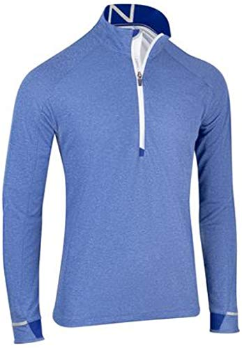 Zero Restriction Lightweight Pullover - Zero Restriction 1/4 Zip Pullover Dodger Heather Large