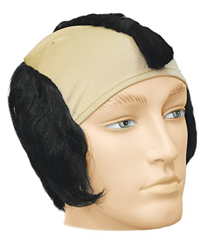 UHC Men's Japanese Warrior Bargain Adult Wig Halloween Costume Accessory -