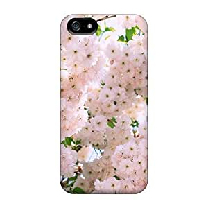 Phonedecory Case Cover Iphone 5/5s Protective Case Beautiful Tree Of Pale Pink Blossoms