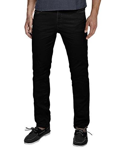 Match Men's Slim Fit Straight Leg Casual Pants(32, 8121 Black) ()
