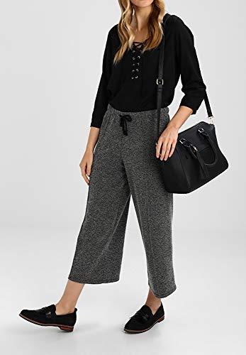 Handle PU Anna Detachable with Bag Strap with Women Black Shoulder Fashion Handbag Bag Fringes Top Field Bucket Bag Leather Handle Pendant for Hand ST4vCS