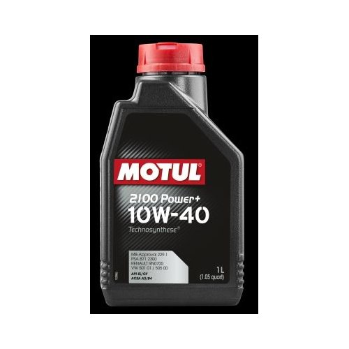 MOTUL Olio 102770 2100 Power Plus 10 W-40, 1 l 1l