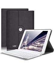 COO Funda Teclado iPad Mini 4, Funda Ultraliviano con Teclado Español Bluetooth Inalámbrico para iPad Mini 4 con Visión de Multiángulo y 360 Grados Soporte Giratorio