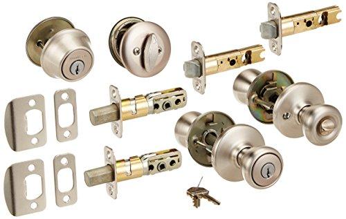 Kwikset TV205055 SN Combo Lockset