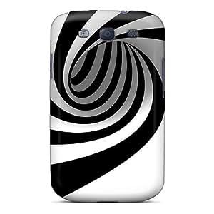 LJF phone case BkuIfoe8540LlYaM Bernardrmop Spiral Feeling Galaxy S3 On Your Style Birthday Gift Cover Case