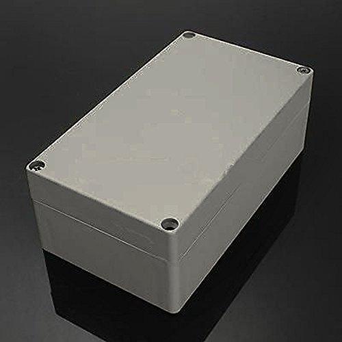 158x90x60mm - Waterproof Plastic Electronics Project Box Enclosure Instrument Case