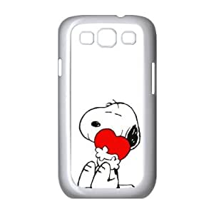 Samsung Galaxy S3 9300 Cell Phone Case White Charlie Brown and Snoopy as a gift V2109715