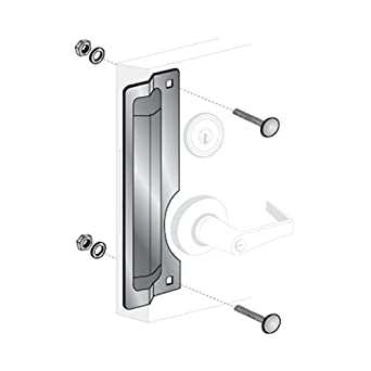 Pro-Lok 11\u0026quot; RH DOOR Latch Protector Aluminum  sc 1 st  Amazon.com & Amazon.com: Pro-Lok 11\